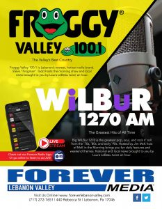 Forever Lebanon Valley Blue Cardinal Photography Ad