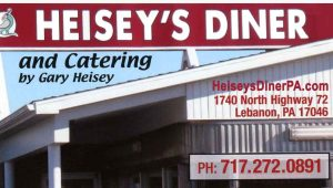 Heiseys Diner Blue Cardinal Photography Ad