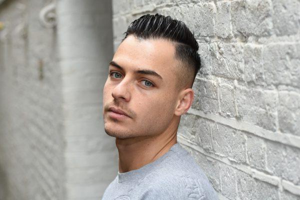 Headshot of a male model